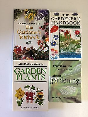 4x Readers Digest Gardeners Handbook Everything You Need to Know Plants
