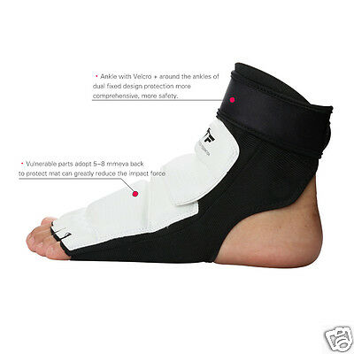 Solid TaeKwonDo Foot Hand Protector TKD Martial Sparring Instep Gear Karate New