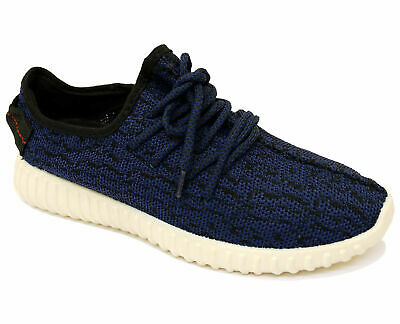 Mens Navy Lace-Up Plimsoles Trainers Sports Running Pumps Walking Shoes 6-11