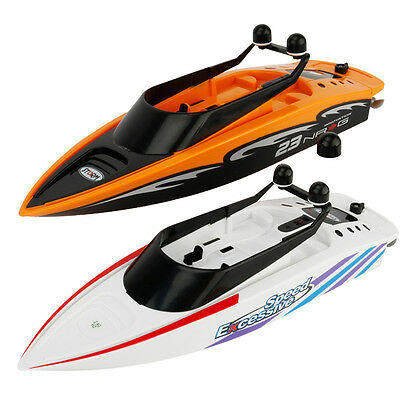 2.4G 4 Channels RC Speed Boat Ship Remote Control Racing Speedboat Kid Toy Gift