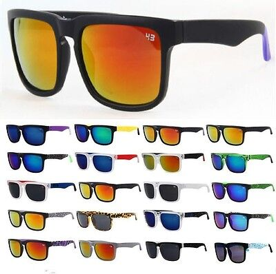 Unisex Fashion Outdoor Sport Retro Block Cycling Helm Sunglasses Aviator P-01