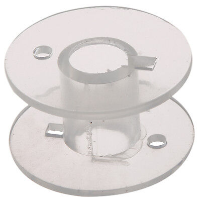 SS 25 Clear Plastic Sewing Machine Bobbins for Fits Singer Janome Toyota