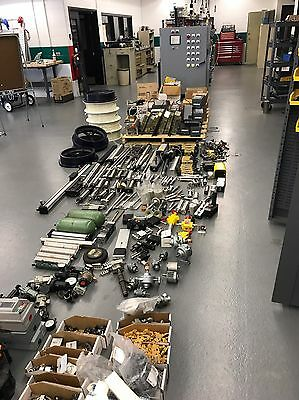 Total Liquidation of Parts Crib - Allen Bradley, Siemens many, New & Used Items