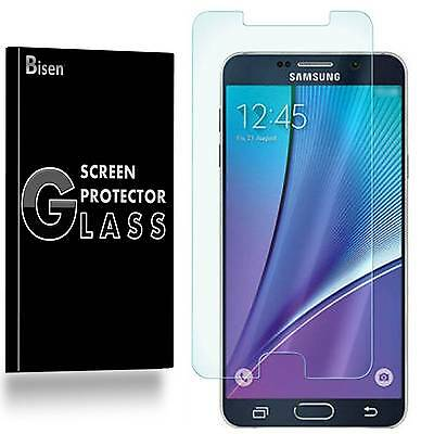 Samsung Galaxy Note 5 4 3 2 [BISEN] Tempered Glass Screen Protector Guard Shield