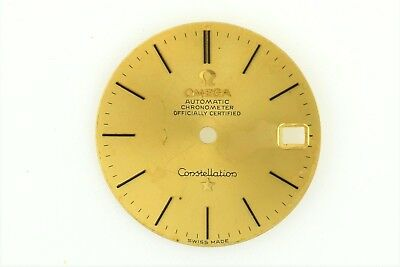 OMEGA Constellation Chronometer Watch Dial solid 18K Gold Ref. 168.009 (B2889)