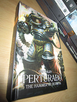 Guy Haley PERTURABO: THE HAMMER OF OLYMPIA 1st/HB Warhammer 40K Primarchs 4