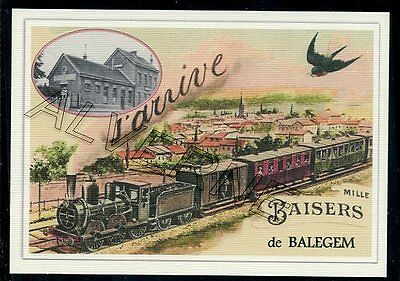 BALEGEM  - train souvenir creation moderne - serie limitee numerotee