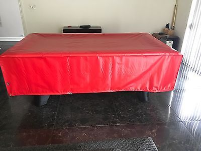 Snooker/ Pool Table Cover, 7ft,Weather Proof, Heavy Duty, Red,Made In The Uk