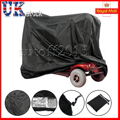 Waterproof Mobility Scooter Storage Cover lightweight Rain Protector  UK STOCK