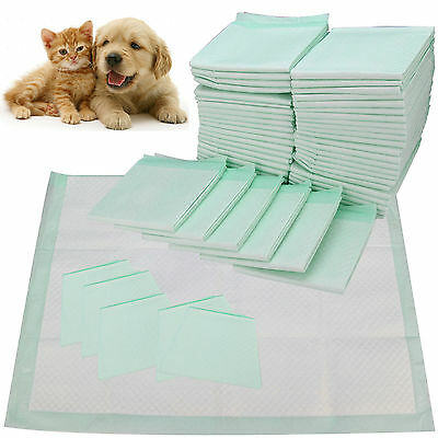 NEW DOG PUPPY EXTRA LARGE TRAINING PADS PAD WEE FLOOR TOILET MATS 60 x 45CM 200