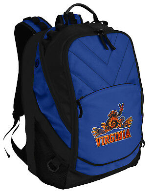1103bf9a5817 UVA PEACE FROG Backpack University of Virginia Peace Frogs Laptop ...