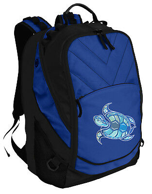 Sea Turtle Backpack BEST Turtle Laptop Computer Bags For SCHOOL or TRAVEL