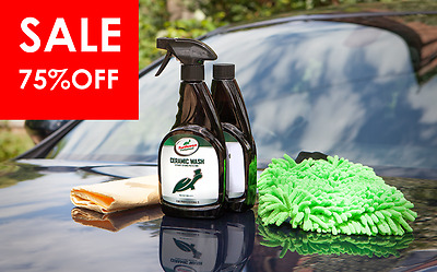Turtle Wax Pro Ceramic Wash Car Cleaning Kit CLEARANCE + FREE P&P