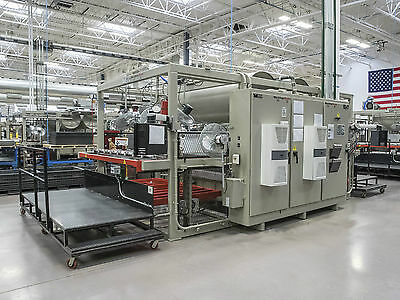 MAAC C75DE Comet Double Ender Thermoforming / Vacuum Forming Shuttle Machine