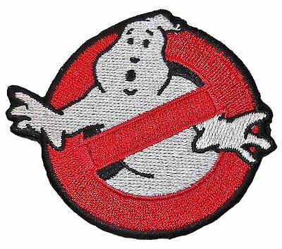 """Ghostbusters Movie """"No Ghost"""" Logo Large 6"""" Diameter Embroidered Patch"""