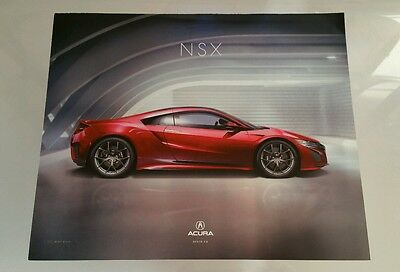 New Acura NSX Press Release Photo