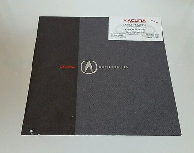 1992 Acura Full Line Catalog Brochure NSX Integra