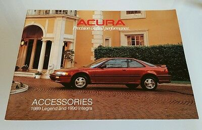 Rare 1989 Acura Integra Legend Accessories Catalog Brochure