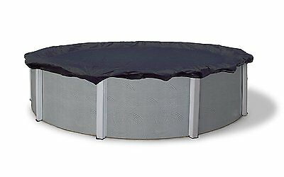 24-ft Round Above Ground Swimming Pool Winter Snow Ice Safety Protection Cover