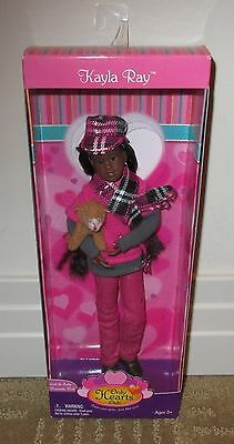 ONLY HEARTS CLUB Kayla Ray Doll w/Cat Spanky ~ African American, 2010 ~ NRFB!