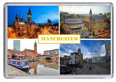 Manchester Fridge Magnet 01