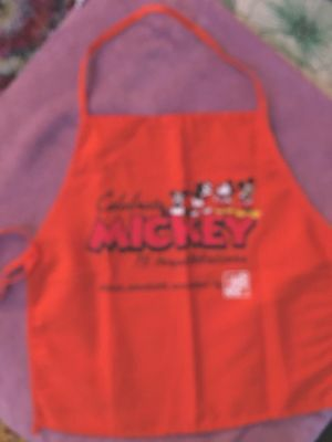 Home Depot Kids Workshop Mickey Mouse Apron. Excellent Condition FREE SHIPPING
