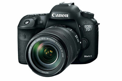 Canon EOS 7D Mark II DSLR Camera with 18-135mm f/3.5-5.6 IS USM Lens