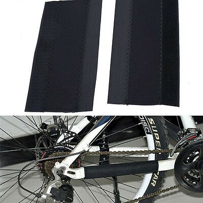 Bike Bicycle Cycling Frame Chain Stay Posted Protector Cover Protection Guards