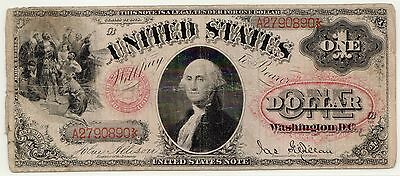 Fr.27 1878 $1 LTN, PCGS Currency F-12, Large Rare Legal Tender Note [3221.03]