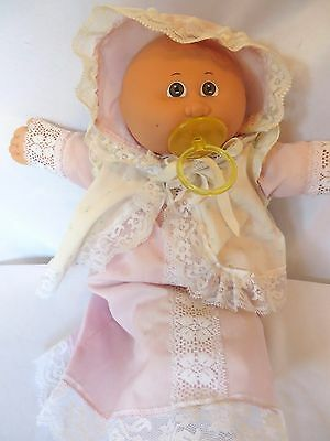 Vintage 1984 Cabbage Patch Kids Little Girl PREEMIE Signed Xavier Roberts