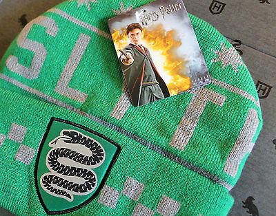 Loot Crate HARRY POTTER SLYTHERIN BEANIE Wizarding World Exclusive Winter Hat