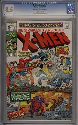 X-Men Annual #1 - CGC Graded 8.5