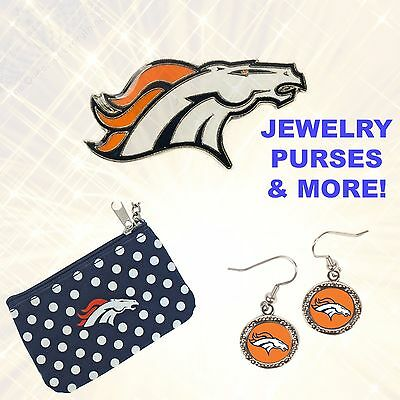 NFL Football Denver Broncos Jewelry Purses and Accessories