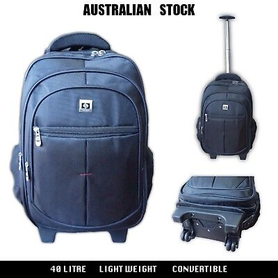 Quality Wheeled Cabin Travel Carry-on Luggage Trolley Backpack Convertible Light