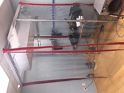 Stainless Steel Softwall Cleanroom 10000 - USA Seller