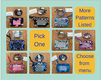 Vera Bradley - Zip ID and Lanyard Combo - Cute Patterns - New with tags