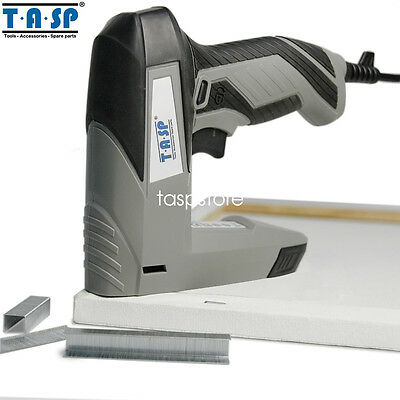 45W 220V Electric Staple Nail Gun Tacker Stapler for Woodworking Power Tool