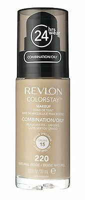 Revlon Colorstay 24hrs Foundation Makeup Combination/Oily - 220 Natural Beige