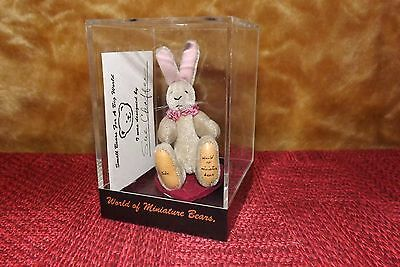 Tiny Bunny / Small Bears for a Big World Bunny!  One of a kind!