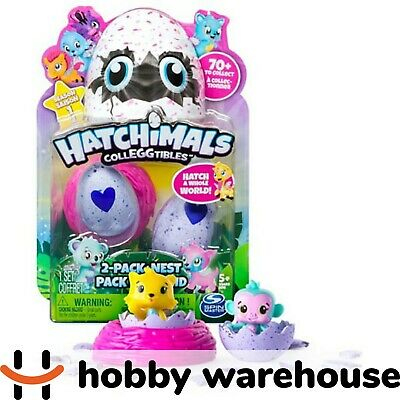 Hatchimals - CollEGGtibles - 2-Pack + Nest