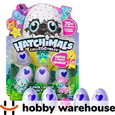 Hatchimals - CollEGGtibles - 4-Pack + Bonus Styles and Colours May Vary