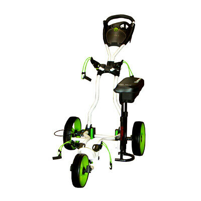 NEW Brosnan Riviera Golf Buggy - White/Lime