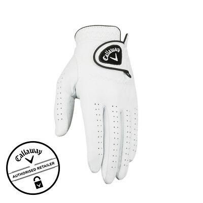 NEW Callaway Dawn Patrol Leather Golf Glove [Hand: Men's Left] [Size: Medium Lar