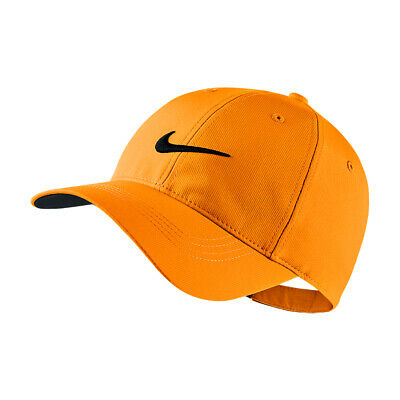 NEW Nike Legacy91 Tech Cap - Vivid Orange/Black