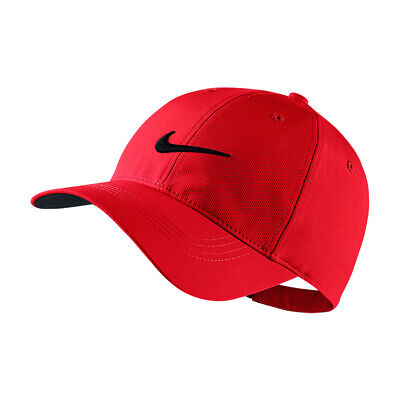 NEW Nike Legacy91 Tech Cap - University Red/Black