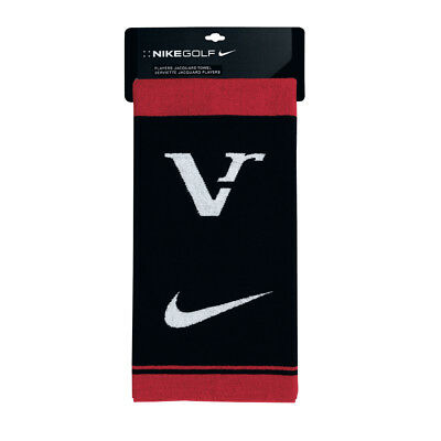 NEW Nike VR Players Jacquard Towel / Tri Fold - Black/White/Red