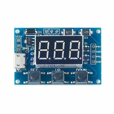 2-way PWM, pulse frequency, duty cycle adjustable modules, square wave
