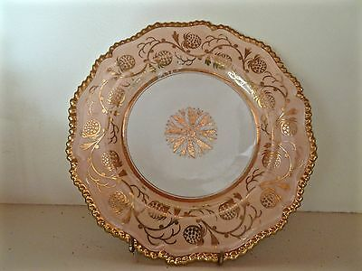 Antique Worcester Flight Barr and Barr Strawberry Pattern Dessert Plate c.1815