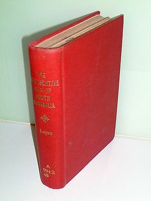 The Representative Men of South Australia - George E Loyau, 1883 book