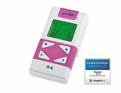 Promed it-6 TENS + Ems Equipo Terapia del dolor beckenboden-training